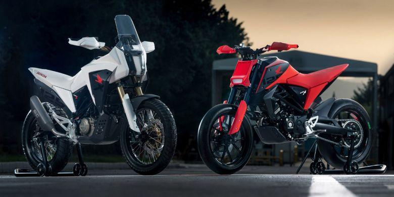 Honda memperlihatkan dua motor konsep di EICMA 2018, CB125X dan CB125M