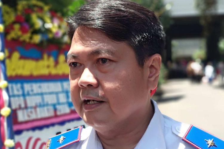 Kepala Dinas Perhubungan DKI Jakarta Andri Yansyah di Balai Kota DKI Jakarta, Kamis (15/3/2018).