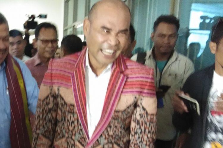 Gubernur NTT Viktor Bungtilu Laiskodat di Kupang, Kamis (24/1/2019)