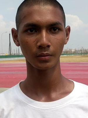Fatih Gian Ghassan (16) anggota Paskibraka Provinsi Jakarta
