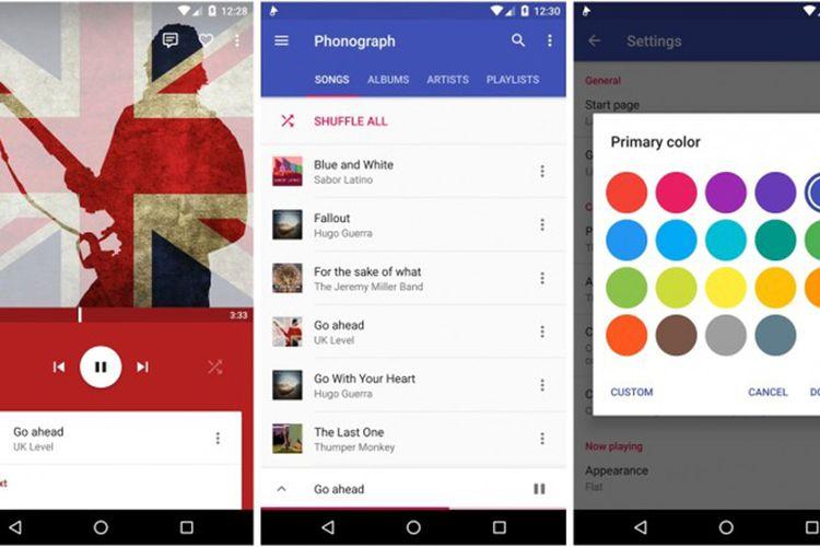 6 Aplikasi Pemutar Musik Pilihan Di Android Halaman All Kompas Com