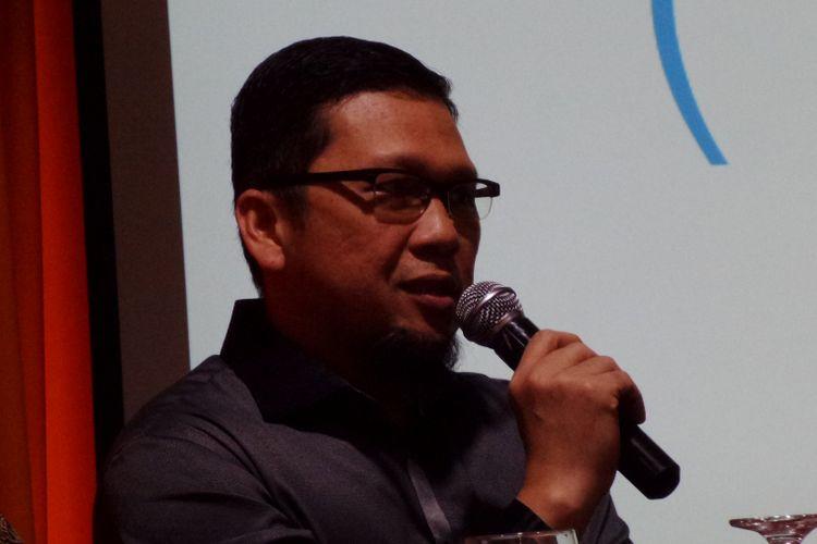 Ketua GMPG Ahmad Doli Kurnia dalam diskusi di Jakarta, Minggu (10/9/2017).