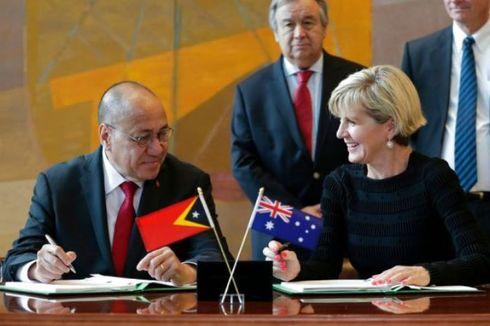 Australia dan Timor Leste Sepakat Berbagi Kekayaan Migas