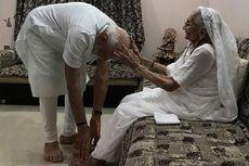 Menang Telak dalam Pemilu, PM India Minta Doa Restu Ibundanya