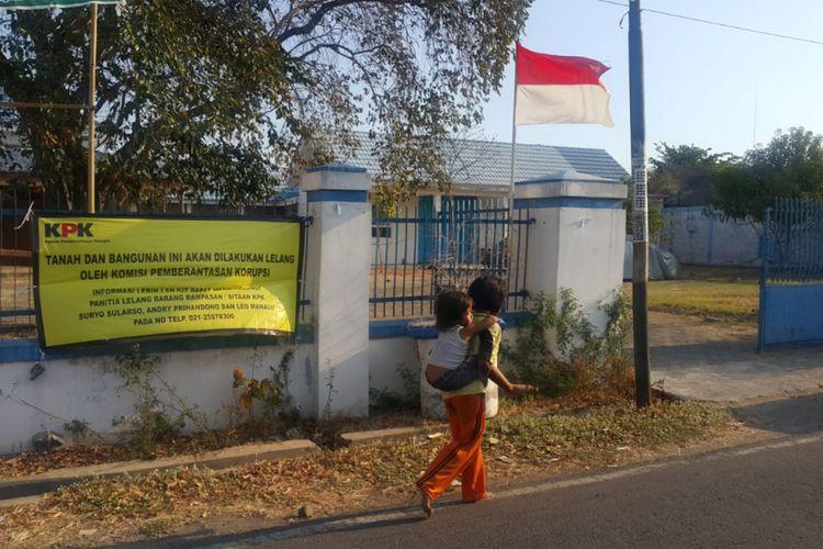 Inilah tanah dan bangunan milik terpidana korupsi, mantan Wali Kota Madiun, Bambang Irianto di Jalan Sikatan, Nambangan Lor, Kecamatan Manguharjo, Kota Madiun yang dilelang Komisi Pemberantasan Korupsi.