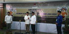 Pasangan Sudrajat - Syaikhu Resmi Jadi Kontestan Pilkada Jawa Barat