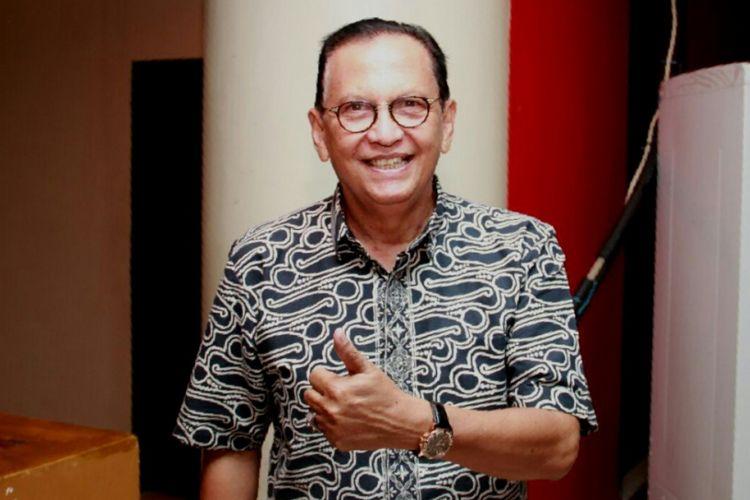 Roy Marten di Hotel Nam, Kemayoran, Jakarta Pusat, pada Sabtu (22/7/2017) malam.