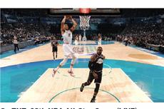 NBA All-Star, Tim LeBron Kalahkan Tim Giannis, Kevin Durant Raih MVP