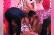 Viral, Video Pengantin Wanita Pingsan setelah Dipeluk Mantan Pacar