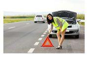 Aturan Pasang Segitiga Pengaman Ketika Mobil Berhenti