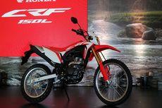 Honda CRF150L Inden Satu Bulan