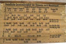 Inilah Tabel Periodik Kimia Tertua di Dunia, Usianya 140 Tahun