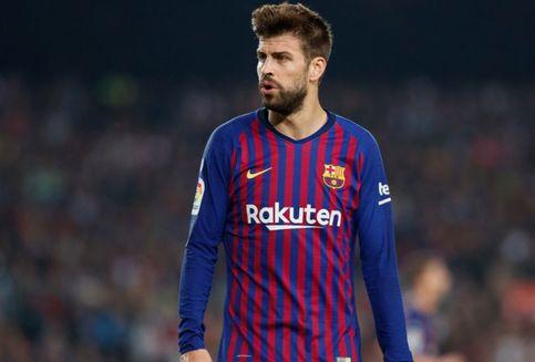 Darah Messi Jadi Alasan Pique Tunjukkan Gestur Kontroversial