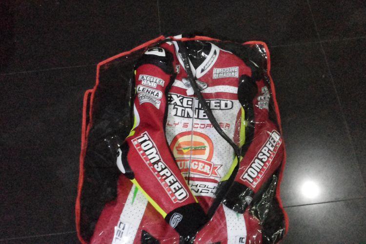 Jenis wearpack yang standar digunakan untuk balapan motor.