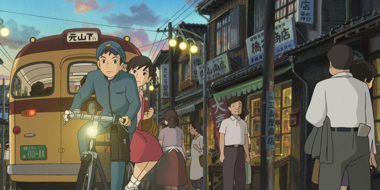 Tokoh-tokoh dalam film garapan Studio Ghibli, From Up on Poppy Hill, yang dibuat tahun 2011. Kisahnya turut mengangkat generasi baru Jepang yang menghargai sejarah.