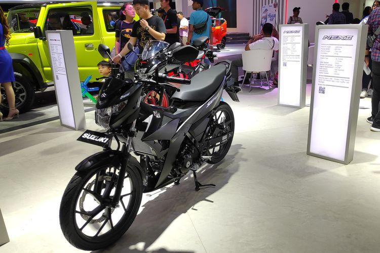 Suzuki membawa produk roda dua di IIMS 2019