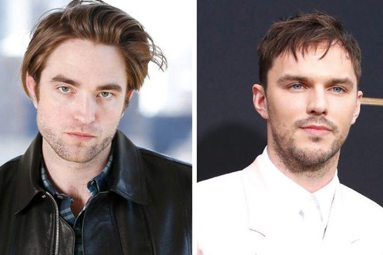 Rob Pattinson dan Nicholas Hoult yang disebut sedang bersaing mendapatkan kesempatan memerankan Batman.
