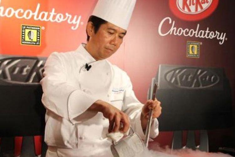 KitKat Chocolatory di Jepang berada di bawah pengawasan penuh chef pastry ternama, Takagi Yasumasa.