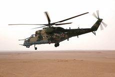Helikopter Rusia Jatuh di Suriah, Dua Pilot Tewas