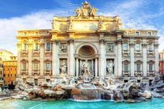 Ke Mana Perginya Koin yang Dilempar Turis di Air Mancur Roma?