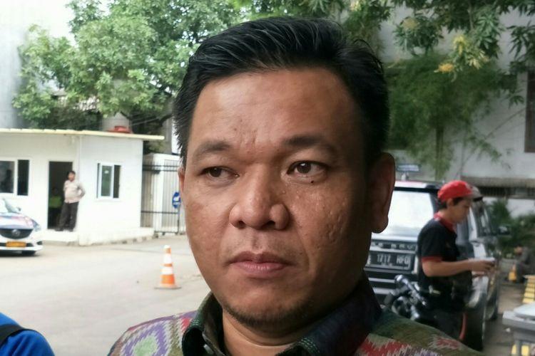 Wakil Sekretaris Jenderal DPP Partai Golkar Ace Hasan Syadzily ketika ditemui di kantor DPP Golkar, Jakarta Barat, Senin (20/11/2017).