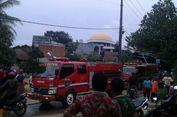 Korsleting Listrik, Satu Rumah Ludes Terbakar di Sawangan