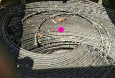 Pencuri 5 Ton Kabel Bawah Laut di Perairan Bintan Ditangkap