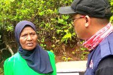 Tangis Haru Mak Iting yang Rumahnya Rusak akibat Gempa Banten