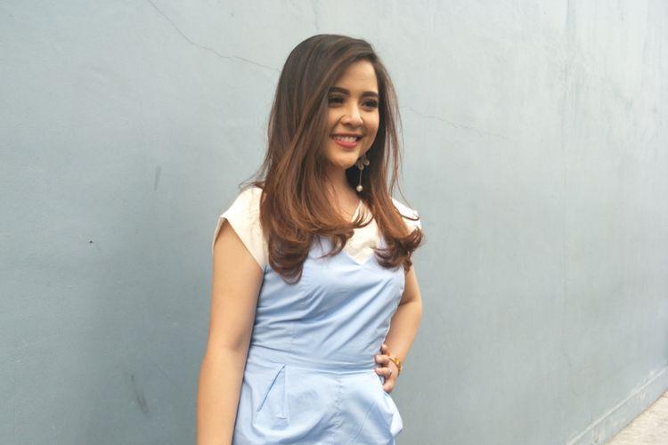 Tasya Kamila Saat Ditemui Di Studio Transtv Mampang Jakarta Selatan Senin