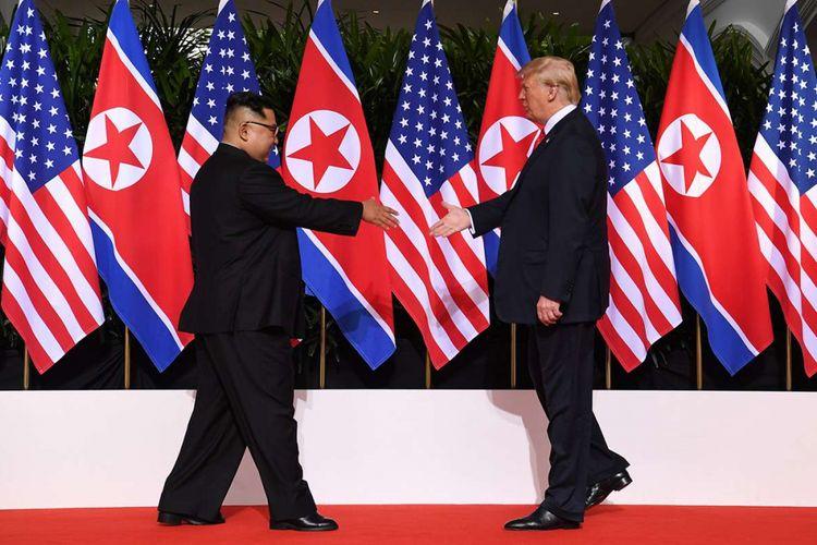 Dari 3 Indikator, Pertemuan Trump-Kim Baru Sukses di 1 Tahap