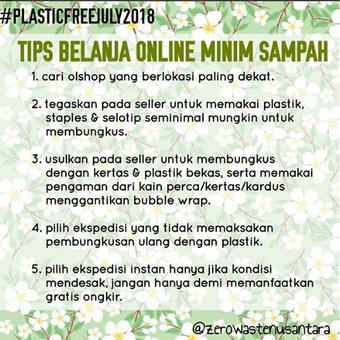 Tips belanja online untuk pembeli.