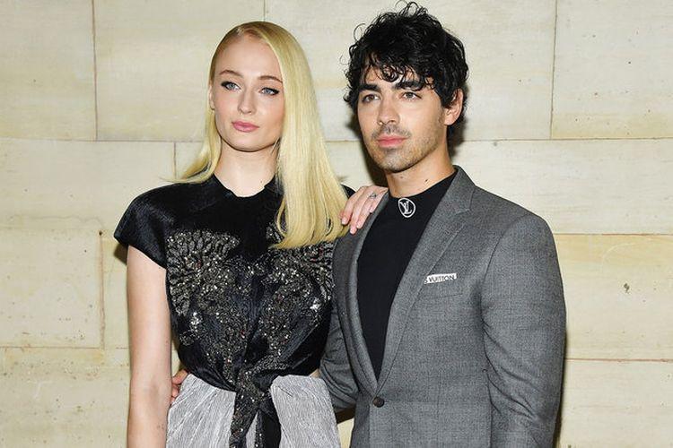 Pasangan selebritas Hollywood, Sophie Turner dan Joe Jonas.