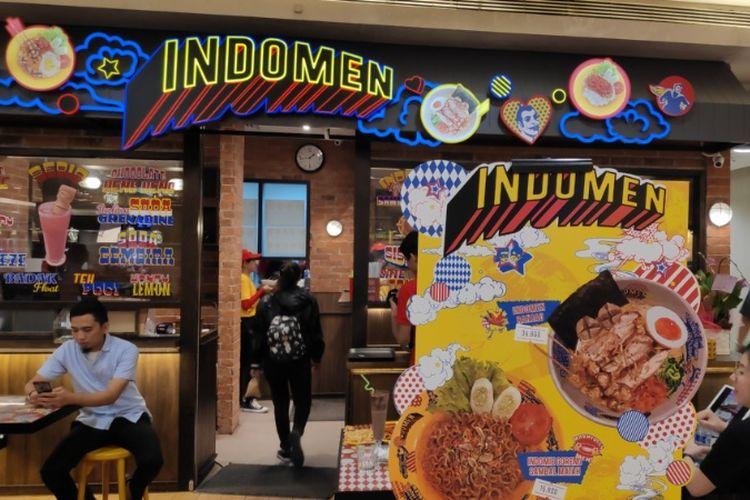 Restoran Indomen di Mal Kota Kasablanka, Jakarta.