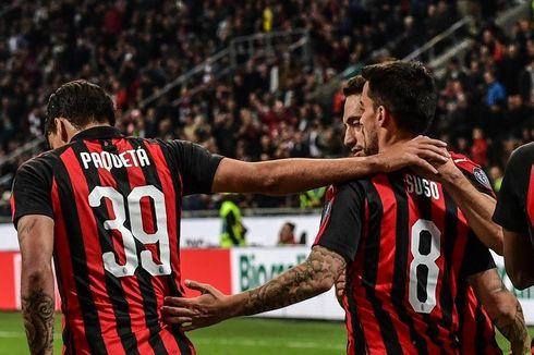Hasil Liga Italia, Menang Vs Bologna, AC Milan Geser AS Roma