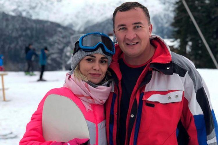 Maksim Kolomeitsev bersama pacarnya, Nadezhda.