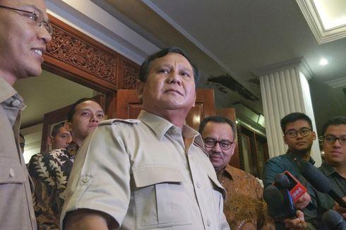 Prabowo: Hei Kalian Elite Partai, kalau Kalian Tidak