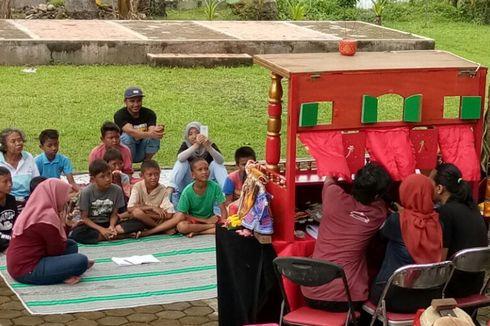 Nonton Wayang Potehi, Anak Bisa Liburan Sambil Belajar