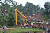 Longsor di Cijeruk Bogor, 5 Orang Belum Ditemukan