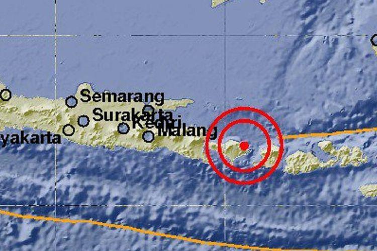 Gempa  Sr Guncang Bali