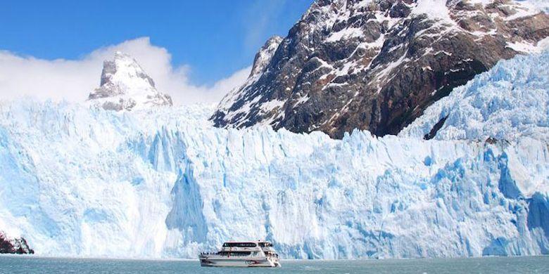 Los Glaciares National Park di Argentina.