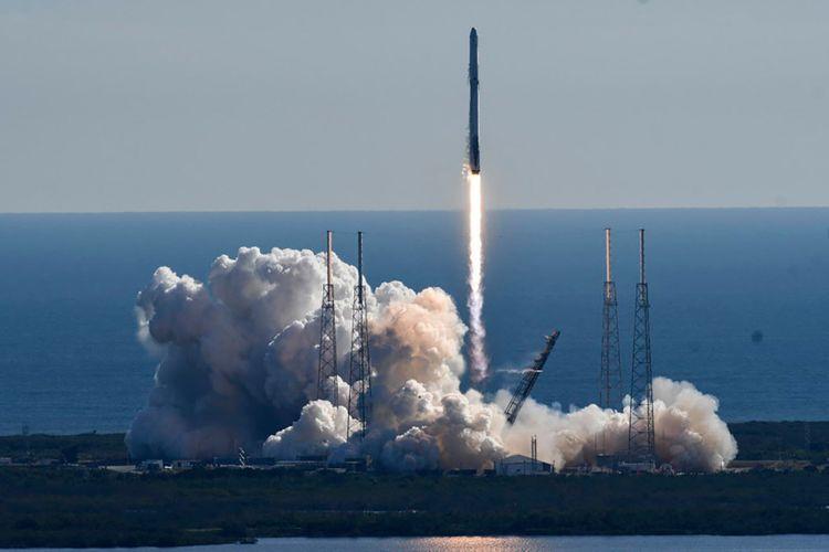 Pertama kali dalam sejarah, SpaceX meluncurkan daur ulang