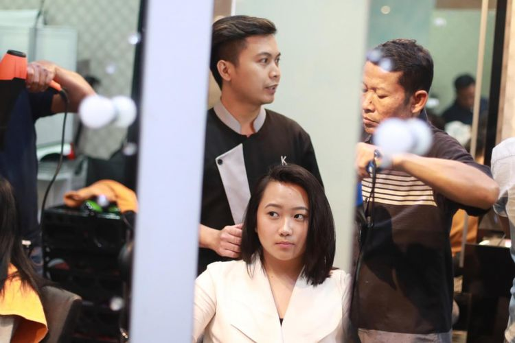 Pebalap perempuan Indonesia, Kezia Santoso.