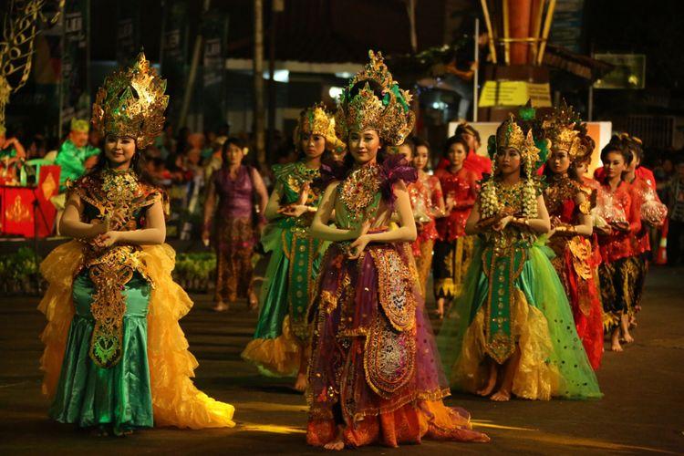 Festival Kuwung 2016 di Banyuwangi, Jawa Timur.