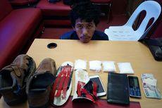 Selundupkan Sabu Dalam Sepatu, TKI dari Malaysia Ditangkap di Nunukan