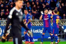 Luis Suarez Kembali Sangar, 10 Gol dalam 8 Laga
