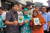 Uu Ruzhanul Ulum Utus Istrinya Sosialisasikan 'Rindu' di Tanah Abang