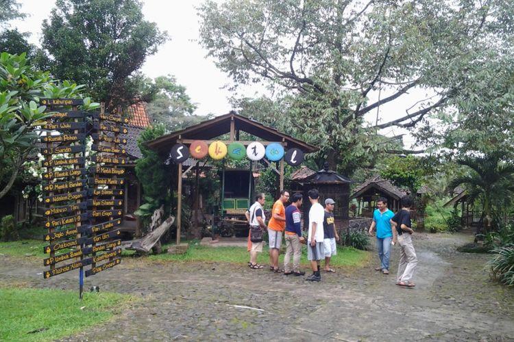 Desa wisata Kampoeng Djowo Sekatul di Kendal, Jawa Tengah.