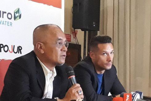 Klarifikasi Madura United soal Status Hamka Hamzah