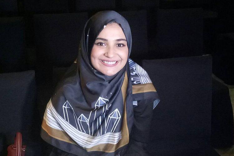Shireen Sungkar saat ditemui di Hotel Gran Mahakam, Jakarta Selatan, Sabtu (13/5/2017).