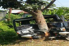 Lihat Ada Wanita Lain, Istri Tabrakkan Toyota Fortuner ke Mobil Suami